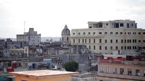 哈瓦那都市风景视图 股票视频