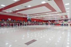哈瓦那,古巴- 2017年10月25日:哈瓦那国际何塞马蒂机场 等待的霍尔 免版税图库摄影
