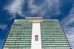 哈瓦那,古巴- 2017年11月30日:Habana libre旅馆 库存照片