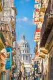 哈瓦那,古巴Capitolio 图库摄影