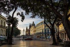 哈瓦那,古巴市中心 免版税库存照片