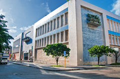 哈瓦那,古巴- 2016年7月12日:国家博物馆的大厦  库存图片