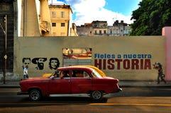 哈瓦那,古巴- 2014年12月15日 库存照片