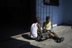 哈瓦那,古巴- 2016年12月11日 免版税库存图片