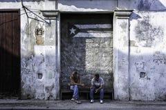 哈瓦那,古巴- 2016年12月15日 库存照片