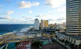 哈瓦那,古巴看法  免版税库存图片