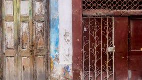 哈瓦那,古巴门面3 免版税库存图片