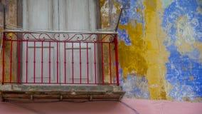 哈瓦那,古巴门面7 免版税库存照片