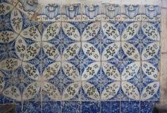 哈瓦那,古巴, 2017年8月:建筑学细节陶瓷砖 免版税库存图片