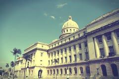 哈瓦那- Capitolio 图库摄影