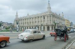 哈瓦那Gran Teatro de La Habana- Great剧院  免版税库存照片