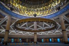 哈立德国王国际机场盛大清真寺 免版税库存图片