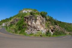 哈纳高速公路,毛伊夏威夷 库存照片