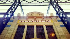 哈莱姆火车站 库存照片