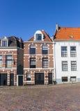 哈莱姆cener的典型的荷兰房子  图库摄影