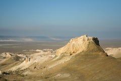 哈萨克人干草原 库存照片