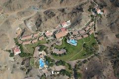 哈达堡垒旅馆在迪拜 库存图片