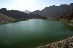 哈达水坝迪拜 图库摄影