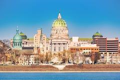 哈里斯堡国会大厦大厦 库存图片