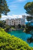 哈里斯堡城堡美丽如画的看法  库存图片