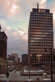 哈里逊和沃伦街 免版税图库摄影