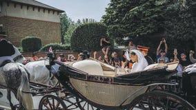 哈里,苏克塞斯公爵和Meghan,苏克塞斯事假的公爵夫人王子 免版税库存图片