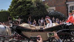 哈里,苏克塞斯公爵和Meghan,苏克塞斯事假的公爵夫人王子 图库摄影