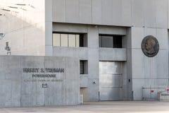 哈里S杜鲁门大力士水坝 免版税库存图片