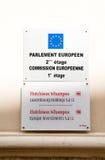 哈钦森角黄埔卢森堡藏品和投资在Eur下 免版税库存图片