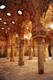 哈马姆,古色古香的阿拉伯浴在朗达,马拉加省,安大路西亚,西班牙 免版税库存照片