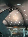 哈马德国际机场 免版税库存照片