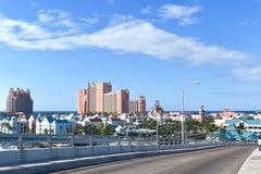巴哈马的桥梁 免版税库存图片