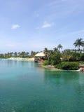 巴哈马视图 免版税库存照片