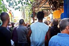 哈默尔胡同在哈瓦那,古巴 免版税库存图片