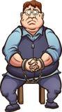哈维尔杜瓦特拘捕了 库存例证