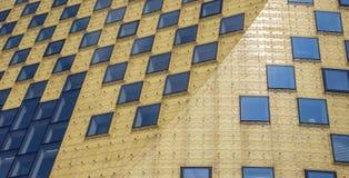 哈登贝赫城镇厅的全景  免版税库存图片