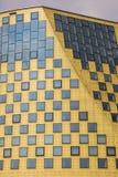 哈登贝赫新的城镇厅的侧视图  图库摄影