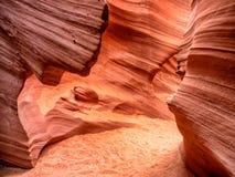 从响尾蛇峡谷关闭在页,亚利桑那附近 免版税库存照片