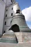 响铃克里姆林宫tsar最大的莫斯科 免版税库存照片