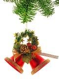 响铃圣诞树 库存图片