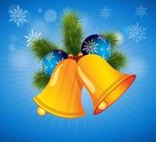 响铃圣诞节向量 免版税库存图片