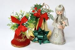 响铃圣诞节神仙 库存照片