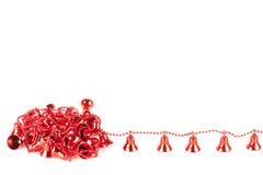 响铃圣诞节红色 免版税库存图片