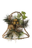 响铃圣诞节装饰 免版税库存照片