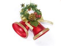 响铃圣诞节 库存图片
