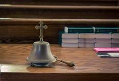 响铃在教会里 图库摄影