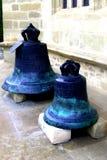 响铃在Putna修道院,苏恰瓦里 免版税库存图片