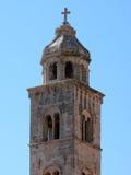 响铃多米尼加共和国的修道院塔 库存照片