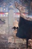 响铃寺庙 库存照片
