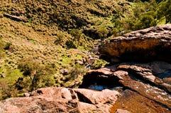 响铃峡谷自然保护 库存照片